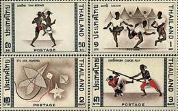 Ref. 27420 * NEW *  - THAILAND . 1966. NATIONAL SPORTS GAMES. JUEGOS DEPORTIVOS NACIONALES - Thaïlande