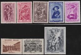 Belgie    .    OBP   .     504/508      .     **   .      Postfris      .  / .   Neuf SANS Charniere - Nuevos