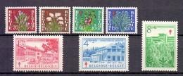 834/840 Sanatoria Postfris** 1950 Cat: 54 Euro - Belgium