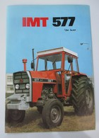 IMT 577 DV De Luxe Tractor Brochure,Prospect,Traktor,Industry Of Agricultural Machines,Tractors,Belgrade,Yugoslavia - Tracteurs
