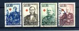 1938 FINLANDIA SET USATO - Usati