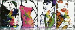Ref. 180272 * NEW *  - THAILAND . 2004. MODA DE BANGKOK - Tailandia