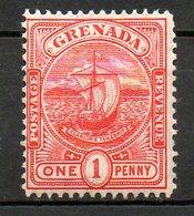 GRENADE - (Colonie Britannique) - 1905-08 - N° 61 - 1 P. Rouge - (Armoiries) - America Centrale