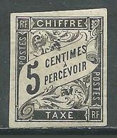 France Colonies Françaises Timbres-taxe YT N°5 Duval Neuf/charnière * (Voir Description) - Postage Due