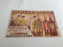 Buvard Ancien BIÈRE LA SEMEUSE STELLA ÉPICIER - Liquor & Beer