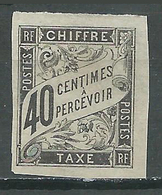 France Colonies Françaises Timbres-taxe YT N°10 Duval Oblitéré ° - Taxes