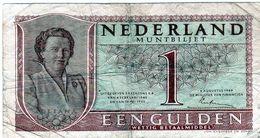 Ancien Billet Du Nederland - 1 Gulden - 8-8-1949 - - [3] Emissioni Ministerie Van Oorlog
