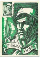 Algerie 1954 - Cartes-maximum