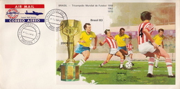 Postal History Cover: Brazil Cover With Soccer SS From 1983 - World Cup