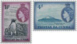Ref. 597633 * HINGED *  - TRISTAN DA CUNHA . 1954. ELIZABETH II. ELISABETH II - Tristan Da Cunha