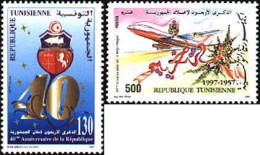 Ref. 366451 * NEW *  - TUNISIA . 1997. 40th ANNIVERSARY OF THE REPUBLIC. 40 ANIVERSARIO DE LA REPUBLICA - Tunisia (1956-...)