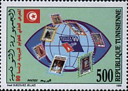 Ref. 148120 * NEW *  - TUNISIA . 1999. PHILEXFRANCE 99. INTERNATIONAL PHILATELIC EXHIBITION. PHILEXFRANCE 99. EXPOSICION - Tunisia (1956-...)