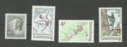 Luxembourg N°853, 861 à 863 Neufs** Cote 4.30 Euros - Unused Stamps