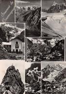 Cartolina Courmayeur Vedute 1956 - Non Classificati