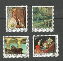 Luxembourg N°854 à 857 Neufs** Cote 7.50 Euros - Unused Stamps