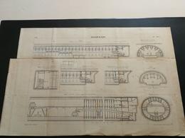 ANNALES DES PONTS Et CHAUSSEES (Dep 92)- Plan Du Collecteur De Clichy Imp L.Courtier 1897 (CLA18) - Máquinas