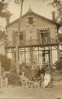Theme Div:ref BB399- Carte Photo Non Située A Identifier - Villa Therese -  Arcachon - Gironde ??- - Cartes Postales