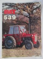 IMT 539 Tractor Brochure,Prospect,Traktor,Industry Of Agricultural Machines,Tractors,Belgrade,Yugoslavia - Tracteurs