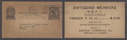 CUBA. 1941 (22 Julio). Habana Uso Local. Entero Postal 2cts Impresión Privado Con Slogan Ayude A Su Cartero Compre Entra - Cuba