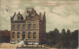 Rumpst.   Kasteel Van Den Burgemeester.   Mooie Gekleurde Kaart!   -  1920   Naar  Antwerpen - Rumst