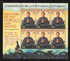2019 - VATICAN - VATICANO - VATIKAN - S19 - MNH - SET OF 6 STAMPS ** - Vatican