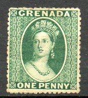 GRENADE - (Colonie Britannique) - 1863-71 - N° 3 - 1 P. Vert - (Victoria) - Centraal-Amerika