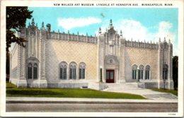 New Walker Art Museum Lyndale At Hennepin Avenue Minneapolis Minnesota Curteich - Museum