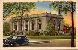 Historical And Art Museum Kenosha Wisconsin Curteich - Museum