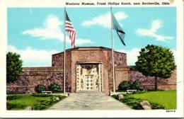 Woolaroc Museum Frank Phillips Ranch Near Barttlesville Oklahoma Curteich - Museum