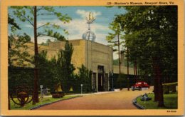 Mariner's Museum Newport News Virginia 1947 Curteich - Museum