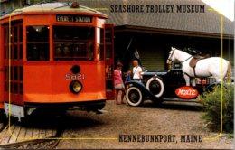 Seashore Trolley Museum Kennebunkport Maine - Museum