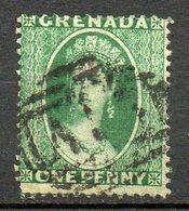 GRENADE - (Colonie Britannique) - 1861-62 - N° 1 - 1 P. Vert - (Victoria) - Centraal-Amerika