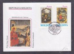Moldova 1994 Christmas FDC - Moldova