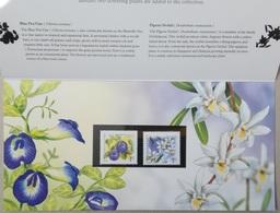 2009 Singapore. Flowers Definitives. MNH - Singapore (1959-...)