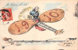Illustrateur ROBERTY- 1er Janvier 1910-31 Décembre 1909  Le Sourire N° 179 - Autres Illustrateurs