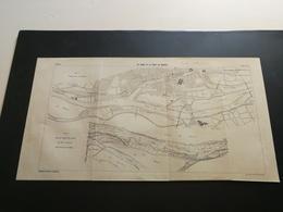 ANNALES DES PONTS Et CHAUSSEES (Dep 44)- Plan De La Loire Et Du Port De Nantes Imp A.Gentil 1915 (CLA23) - Cartes Marines