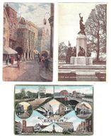THREE OLD POSTCARDS OF EXETER DEVON - Exeter