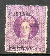 GRENADE - (Colonie Britannique) - 1875-82 - N° 7 - 1/2 P. Vlolet - (Victoria) - Centraal-Amerika
