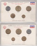 Yugoslavia Coin Set - Jugoslawien