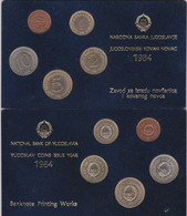 Yugoslavia Coin Set !!! - Jugoslawien