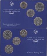 Yugoslavia Coin Set !!! MINT  Serbia Coins - Jugoslawien
