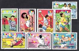 Roumanie 1992 Mi.nr: 4803-4810 Olympische Sommerspiele Barcelona  Oblitérés / Used / Gestempeld - 1948-.... Républiques