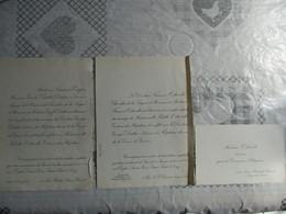 IVRY SUR SEINE LE 28 JANVIER 1922 MADEMOISELLE JULIETTE OSTWALT ET LE DOCTEUR GEORGES DUTER CROIX DE GUERRE - Mariage