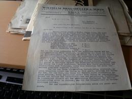 Wilhelm Braumuller Sohn Wien  Universitats Buchhandler Ges M B H 1935 - Autriche