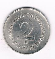 2 FORINT  1966 HONGARIJE/3274/ - Hungary