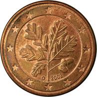 République Fédérale Allemande, 5 Euro Cent, 2002, TB, Copper Plated Steel - Allemagne