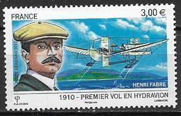 France 2010 Poste Aérienne N° 73, Hydravion, à La Faciale - Poste Aérienne