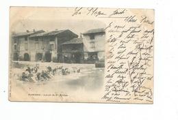 PAMIERS - Lavoir De Ste-Hélène - Carte Précurseur 1901 - Pamiers