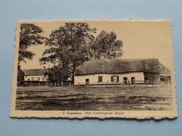Oud Limburgsche Hoeve / Lanaken ( 2 - Foto Centraal ) Anno 19?? ( Zie Foto Voor Details ) ! - Lanaken