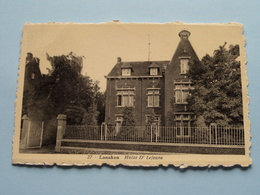 Huize Dr. Lejeune / Lanaken ( 27 - Foto Centraal ) Anno 19?? ( Zie Foto Voor Details ) ! - Lanaken